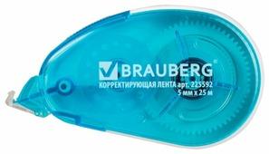 BRAUBERG Корректирующий роллер Maxi синий 5 мм х 25 м