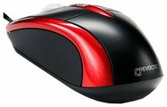 Мышь Revoltec Wired Mini Mouse W103 Red USB