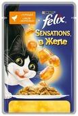 Корм для кошек Felix Sensations с курицей 85 г (кусочки в желе)
