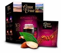 Молотый кофе Gran Crua Amaretto в фильтр-пакетах