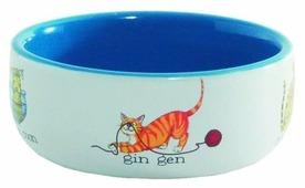 Миска Beeztees 11,5 см Играющие кошки 0.25 л