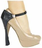 Автопятка Heel Mate для женской обуви c тонким каблуком, натуральная кожа