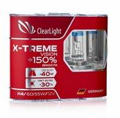 Лампа автомобильная галогенная ClearLight X-treme Vision+150% H4 12V 60/55W 2 шт.