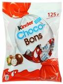Конфеты Kinder Choco-Bons кремовая начинка, ореховый и сливочный вкус, пакет
