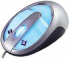 Мышь Gembird MUSL Silver-Blue PS/2