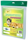 Пеленки для собак многоразовые впитывающие Доброзверики П48*35 48х35 см
