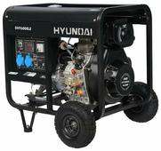 Дизельный генератор Hyundai DHY-6000 LE (5000 Вт)