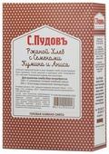 С.Пудовъ Смесь для выпечки хлеба Ржаной хлеб с семенами кумина и аниса, 0.5 кг