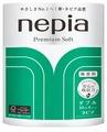 Туалетная бумага Nepia Premium Soft белая двухслойная