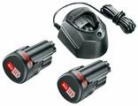 Аккумулятор с зарядным устройством Bosch 1600A01L3E (12В/1.5 Ah + 12В)