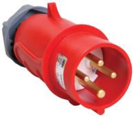 Вилка силовая (CEE) кабельная переносная IEK PSN02-016-4