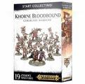 Миниатюры Games Workshop Start Collecting! Khorne Bloodbound Goreblade Warband