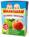 Нектар Малышам Из яблок и персиков, с 5 месяцев