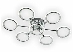 Светильник светодиодный Максисвет Геометрия 1-1659-7-CR Y LED, LED, 126 Вт