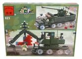 Конструктор Qman CombatZones 823 Военный танк