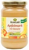 Пюре Alnatura яблочное с бананом банка 360 г