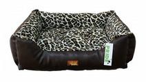 Лежак для собак PRIDE прямоугольный Гепард 60х50х18 см