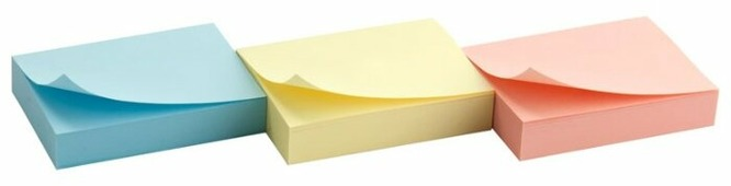 Axent Delta блок бумаги с клейким слоем 5 x 4 см (D3311)