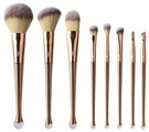 Набор кистей Zoreya Cosmetics Professional Makeup Brush Set ZM8, 8 шт.