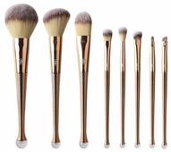 Набор кистей Zoreya Cosmetics Professional Makeup Brush Set ZM8, 8 шт.