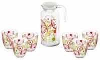 Набор Pasabahce Fazenda кувшин + стаканы 7 предметов