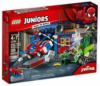Конструктор LEGO Juniors 10754 Человек-паук против Скорпиона: Решающая схватка