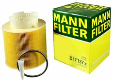 Цилиндрический фильтр MANNFILTER C17137X