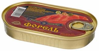 Морская Держава Форель радужная натуральная, филе кусочки, 175 г