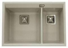 Интегрированная кухонная мойка AQUASANITA Delicia SQD150 65х45.5см искусственный гранит