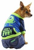 Свитер для собак Triol Disney Monsters с джинсами L