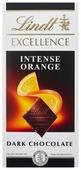 Шоколад Lindt Excellence темный с апельсином и миндалем