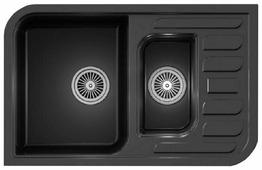 Врезная кухонная мойка Granula 7803 78х50см искусственный гранит