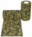 Самофиксирующийся бинт Andover PetFlex 10 х 450 зеленый камуфляж