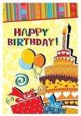 Открытка ND Play Happy Birthday! (273797), 1 шт.