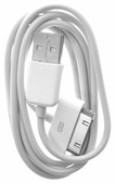 Кабель Olto USB - Apple 30-pin MFI (ACCZ-3013) 1 м