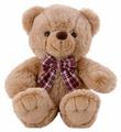 Мягкая игрушка SOFTOY Медведь песочный 30 см
