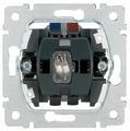 Кнопочный выключатель (кнопка) Legrand Galea Life 775846,10А, серый