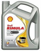 Моторное масло SHELL Rimula R4 X 15W-40 4 л