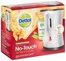 Диспенсер для жидкого мыла с сенсорной системой Dettol No-touch с жидким мылом с ароматом зеленого чая и имбиря
