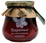Варенье Косьминский гостинец из сосновых шишек, банка 290 г