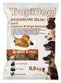Корм для собак TropiDog утка с рисом