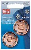 Prym Кнопки пришивные (341802), 30 мм, 2 шт.