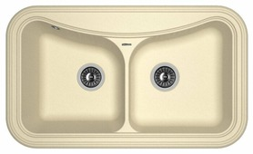 Врезная кухонная мойка FLORENTINA Крит-860 86х51см искусственный гранит