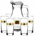 Набор ГУСЬ-ХРУСТАЛЬНЫЙ Винтаж EAV25-3944/402 кувшин + стаканы 7 предметов
