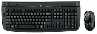 Клавиатура и мышь Logitech Pro 2800 Cordless Desktop Black USB