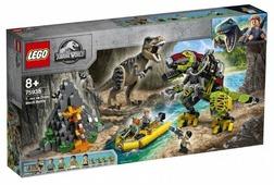 Конструктор LEGO Jurassic World 75938 Бой тираннозавра и робота-динозавра