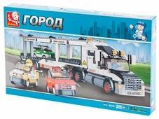 Конструктор SLUBAN Городская серия M38-B0339 TRANSPORTER TRUCK