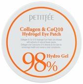 Petitfee Гидрогелевые патчи для век с морским коллагеном и коэнзимом Q10 Collagen & Q10 hydrogel eye patch