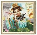 Золотое Руно Набор для вышивания Волшебная флейта 38,4 х 38,4 см (00-005)