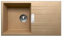 Врезная кухонная мойка Tolero Loft TL-750 75х43.5см полимер